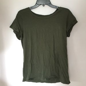 Olive Green basic old navy tee shirt